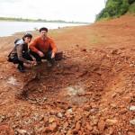 Звероящеры Пермского периода, река Вятка, аномальная зона Котельнич: пустой палеонтологический раскоп